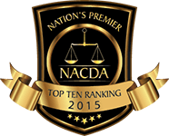Nation's Premier NACDA Top 10 Ranking 2015 Badge